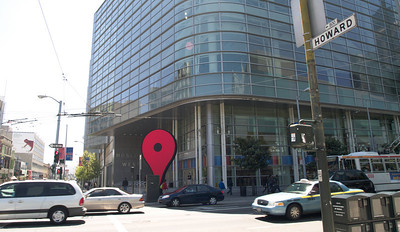 Moscone center hvor Google I/O blev holdt